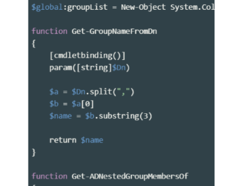 How to get all Active Directory groups of an user with powershell?