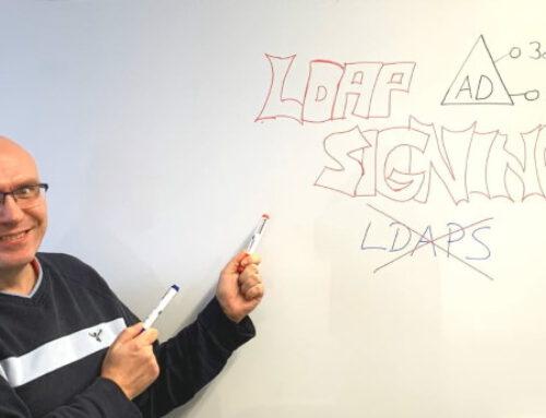 LDAPS ist nicht LDAP Signing + Channel Binding